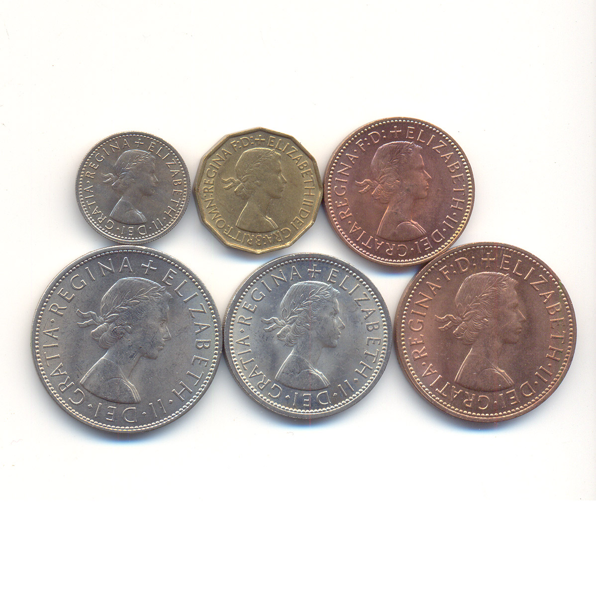 Current uk coins pictures