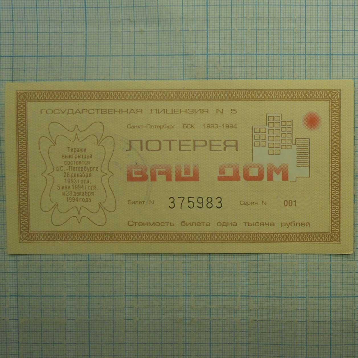 фото Билеты казино лотерейные джой